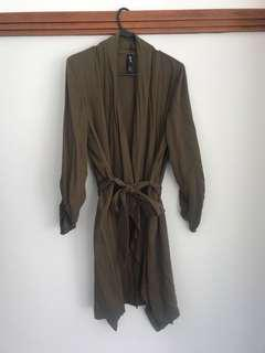Khaki Waterfall Jacket