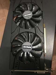 Inno3D gtx1060 6GB有單有盒有保養