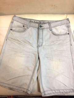 Denim Shorts Polo Santa Barabara Plus Size