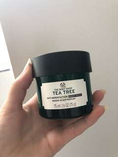 Tea Tree Anti-Imperfection Night Mask / The Body Shop