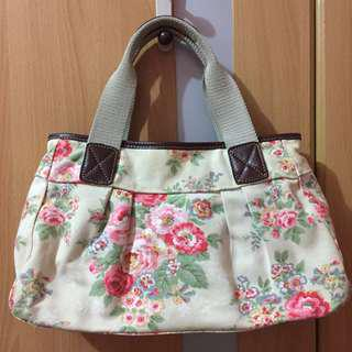 Authentic Cath Kidston pleated shoulder bag Candy flowers