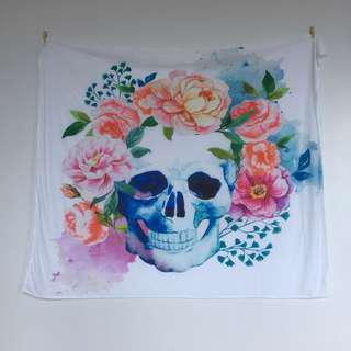 Sugar skull Tapestry