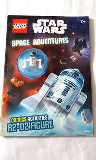Lego Star Wars Space Adventures R2D2 minifigure