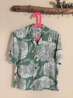 🚚 日本製 Beams boy 夏威夷襯衫 衝浪 復古 短袖襯衫 古著 東洋 Hawaii
