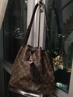 Authentic Customized Louis Vuitton Noe GM