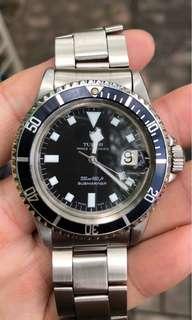 Tudor 古董潛水94110 原裝帶9315