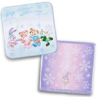 日本TokyoDisneySea Duffy and friends Stellalou 返學小手巾小息袋