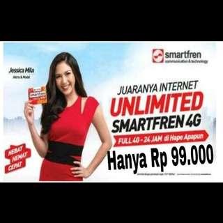 Jual Perdana Smartfren Unlimited 30 hari