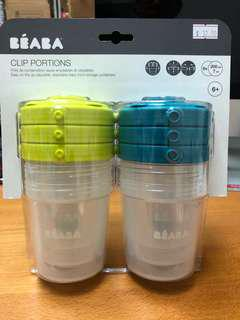 🚚 Portion food storage container 6 X 200ml