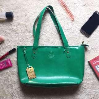 caa7151e51 closeout ralph lauren green bag f658e b5512