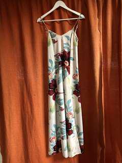 Gorgeous floral evening dress