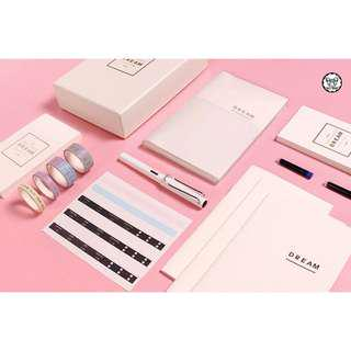 Dream Creative Planner Notebook Deluxe Gift Set