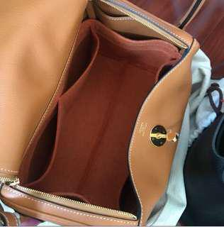 PO: Bags Organiser / bag Insert.