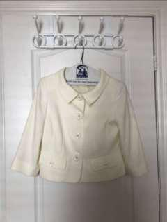 Buttoned jacket formal