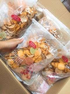 勁好味日本雜錦蝦片😋😋