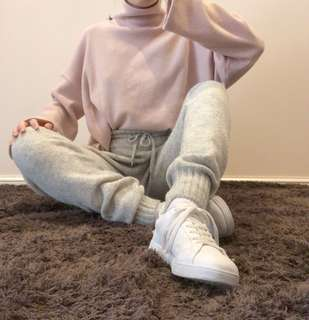 Knitted pants from H&M