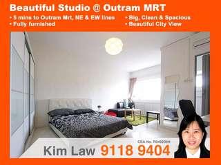 Modern Studio @ Outram Mrt $1800nett
