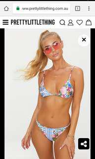 Pretty Little Thing Bikini BRAND NEW Size 10