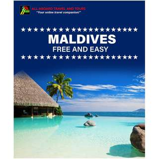 Maldives Free and Easy Land Arrangement for 2 Person