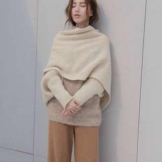 誠徵 Studio Doe 披巾可手穿式圍巾