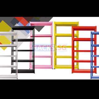 5-Tier DIY Multi-Purpose Boltless Rack w/ Metal Shelves