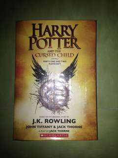 Harry Potter and the Cursed Child paperback
