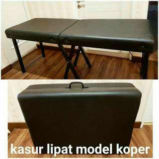 Ranjang kasur lipat sulam eyelash extension salon portable