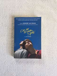 Call Me By Your Name by Andre Aciman book
