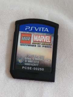 Sony PS Vita Lego marvel superheros game card