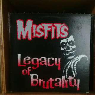 Misfits - Legacy if Brutality LP