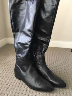 Leather Tony Bianco Long Boots