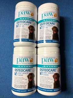 【現貨】 全新, 澳洲直送 Paw Blackmores OSTEOCARE / Joint health chews / 關節保健袋鼠肉 / 500g (17.6oz) 100 chews - 實物圖