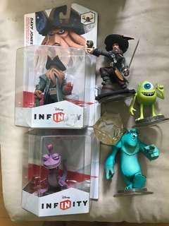 Disney Infinity monsters and pirates play set