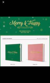 (SEALED INSTOCKS) TWICE MERRY HAPPY