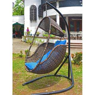 Hanging Egg Chair with 2 Cushions