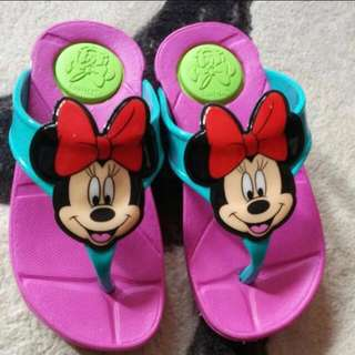Kids Minnie Mouse Slippers