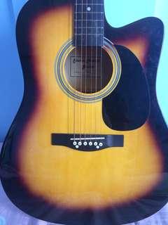 Steven Harris Guitar Model no. 801 C