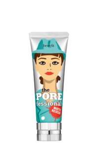2 PRODUCTS!!! Benefit Cosmetics- POREfessional matte rescue primer AND POREfessional face primer
