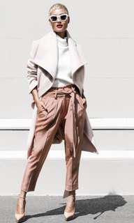 Sheike Neutral Tone Silk Pants