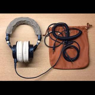 🚚 Audio-Technica 鐵三角 ath-m50x 專業監聽耳機