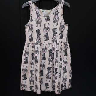H&M Bunny Pink Dress
