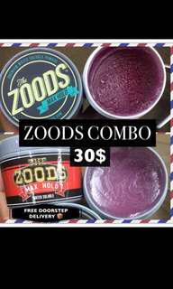 🚚 Free Doorstep Delivery 📦 [The Zoods Pomade Combo Set ]