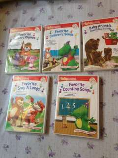Baby Genuis song & music dvd+cd  for baby & kids