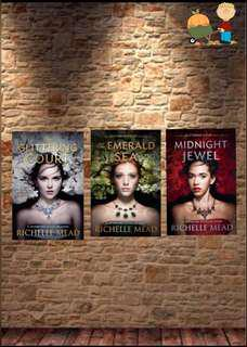 Richelle Mead The Glittering Court Trilogy E-book