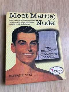 Meet Matt nude palette / don't know the authenticity