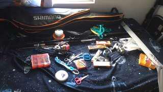 放full set釣魚用品