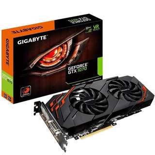 Display card / 顯示卡 / GeForce GTX 1070 WINDFORCE 8G