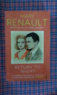 Mary Renault - Return to Night