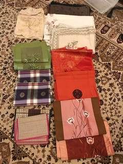 Table Cloth, Table Runner, Alas Makan #mayrathon