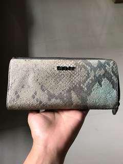 DKNY long slim wallet